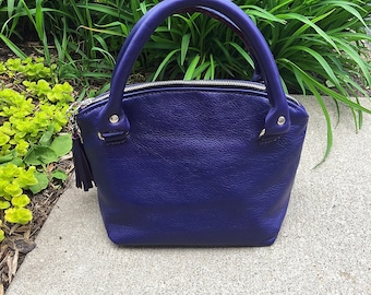 Made to Order - Leather Handbag - Any Colour, leather handbag, leather satchel, handmade handbag, Jennis Experiment