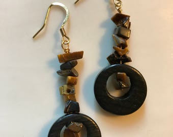 Stone Chips Earrings