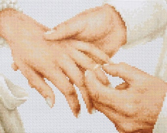 love cross stitch bridal cross stitch kit wedding cross stitch bridal shower gift cross stitch gift easy cross stitch heart cross stitch