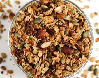 Salty-Sweet Olive Oil Granola (3 12-oz pouches)