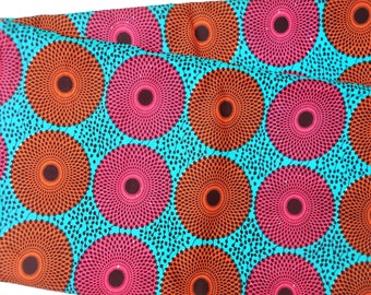 Ankara Fabric, Afican Print, Angelina Print, Dashiki Fabric, Kitenge Print, Tissus Africain, Disc Fabric, Nsubura Print, Ankara Print,