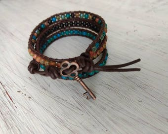 DownToEarth - Triple Wrap Bracelet