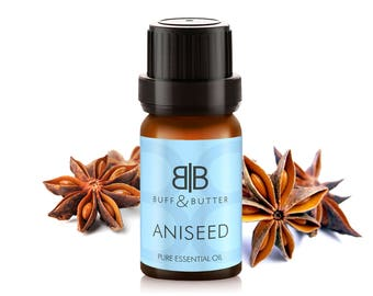 Anise Seed (Pimpinella Anisum) Aniseed Extract Essential Oil 100% Pure Natural Fragrance Aromatherapy - 10ml, 30ml, 50ml, 100ml Bottle