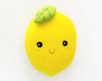 Irresistible Lemon Plush