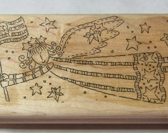 Angle Stamps Stampin' Up Rubber Stamps, patriotic Stmaps, Fourth of July Stamp
