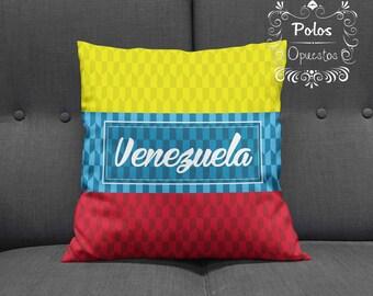 Sale !! Venezuela Pillow - Venezuela Flag - Pillow Case - Cushion Case - Venezuela - Pillow - Cushion - Free Shipping