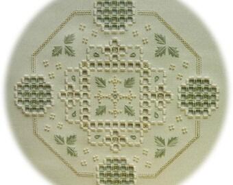 Hardanger embroidery - Berrington Hall (II)