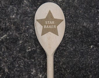 Star Baker, The Great British Bake Off Inspired Gift, Baking Gift, Gift for Mum, Funny Birthday Gift, Unique Fathers Day Gift, GOT