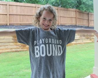 Playground Bound Kids T-Shirt Big
