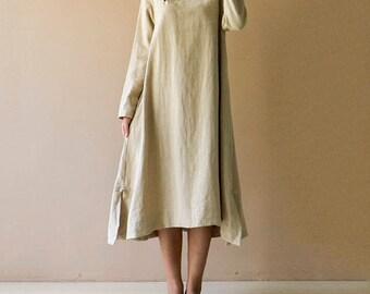 Women's plain-coloured dresses are comfortable