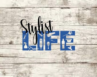 Stylist Life SVG