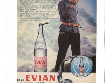 old pub Evian water mountaineering