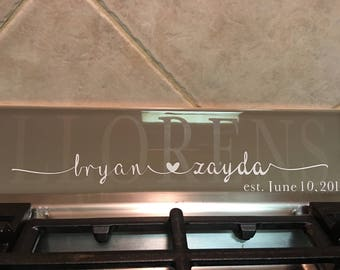 Custom Etched Tile Personalized