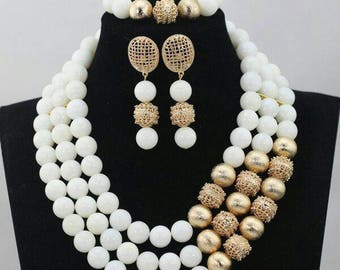 New Elegant Wedding Beads set
