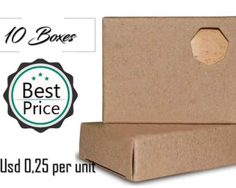 10 Sets boxes packaging Kraft SOAP handmade soap packaging box packaging soap bars soap bars
