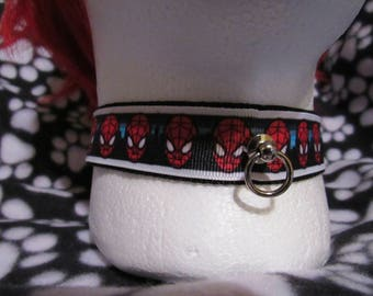 Spiderman Collar