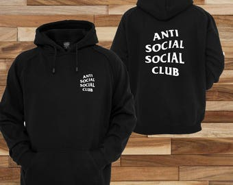 Anti Social Social Club Black hoodie pull over mastermind culture - Kanye West, I Feel Like Pablo, Gift Idea, Supreme Tee