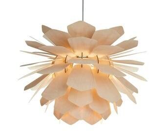 wood veneer lighting. pendant light la pigne wood lamp plywood birch veneer lighting i