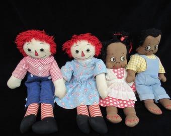 Raggedy Ann and friends