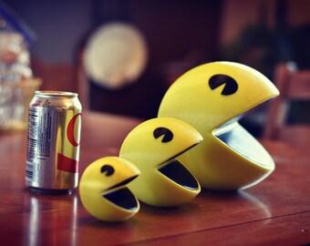 3D Printed Pacman Figure - Video Games - Old School - Arcade - Ghost - Retro - Gaming- Vintage - Nintendo - Retro Gaming