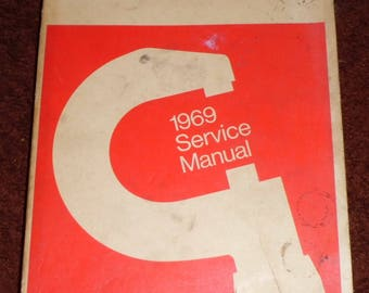 Vintage 1969 Service Manual for Dodge Polara/Monaco - Chrysler/Mopar