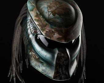 Custom Predator Real Motorcycle Helmet Options 3