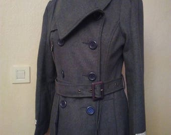 Long coat military style