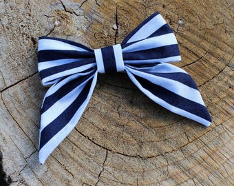 Striped Bow