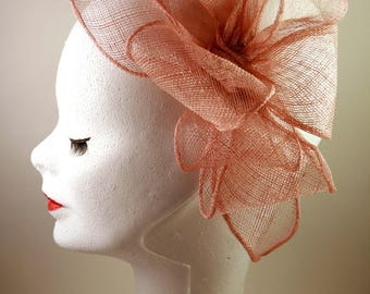 style fascinator, fascinator, sisal, hair jewelry