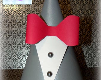 Pee-Wee Inspired Party Hats Set of 8