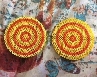 Orange and Lemon Coasters- Set of 2