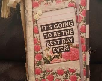 junk journal,diary, keepsake, vintage style journal