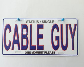 License plate car tag