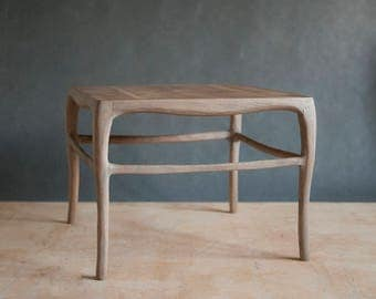 organic oak coffee table