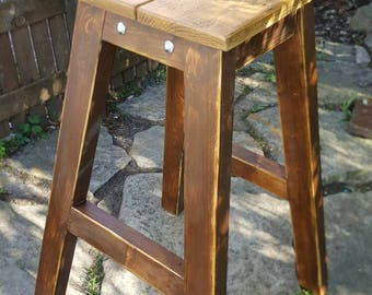 Bespoke collapsible Spanking stool with restraints bdsm.