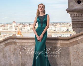 Budapest- Evening dress V-038