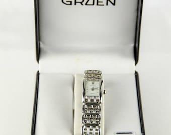 Gruen Women's Stainless Steel Quartz Wrist Watch GU4001L