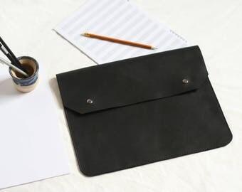 Document case etsy leather folder leather document holder personalized holder leather folder a4 bag for documents folder case document malvernweather Images