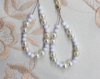 Earrings drop Pearl - Rolande N 2 series