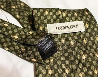 London Fog Made in Canada Silk Tie