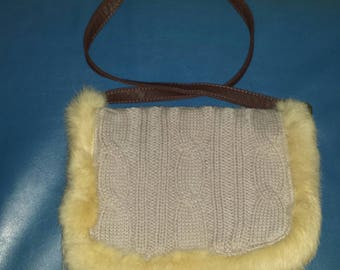 Hand bag to knit one piece available