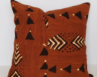 Mud-cloth Pillow Sham