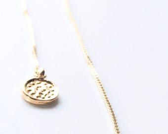Dainty Medallion Threader Earring Set