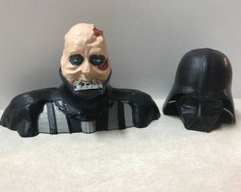 3D Printed Darth Vader Revealed - Hand Painted