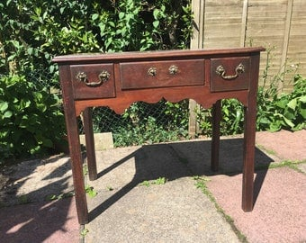 Antique Gorgian Mahogany Low Boy / Side Table