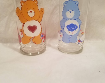 Care Bear Character  Collectors Glasses