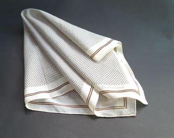 VINTAGE BURBERRYS handkerchief, Vintage Rare Burberrys handkerchief