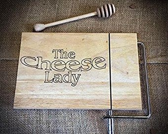 The Cheese Lady Beech Cheese Cutting Board