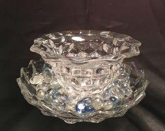 Beautiful Candy Dishes with Decorative Rocks!