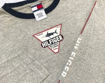 Tommy Hilfiger Mexico 90s long sleeve Rare